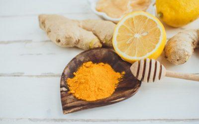 Recipe: Lemon, Turmeric & Ginger Bliss Balls